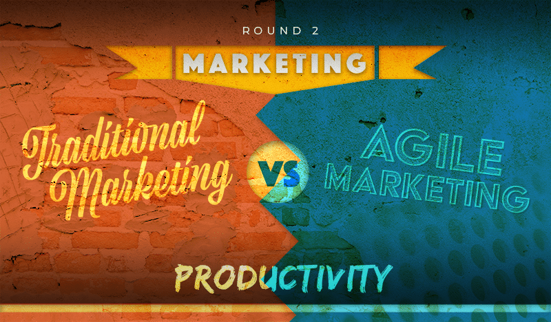 Traditional Marketing vs Agile Marketing Battle : Round 2 - Productivity