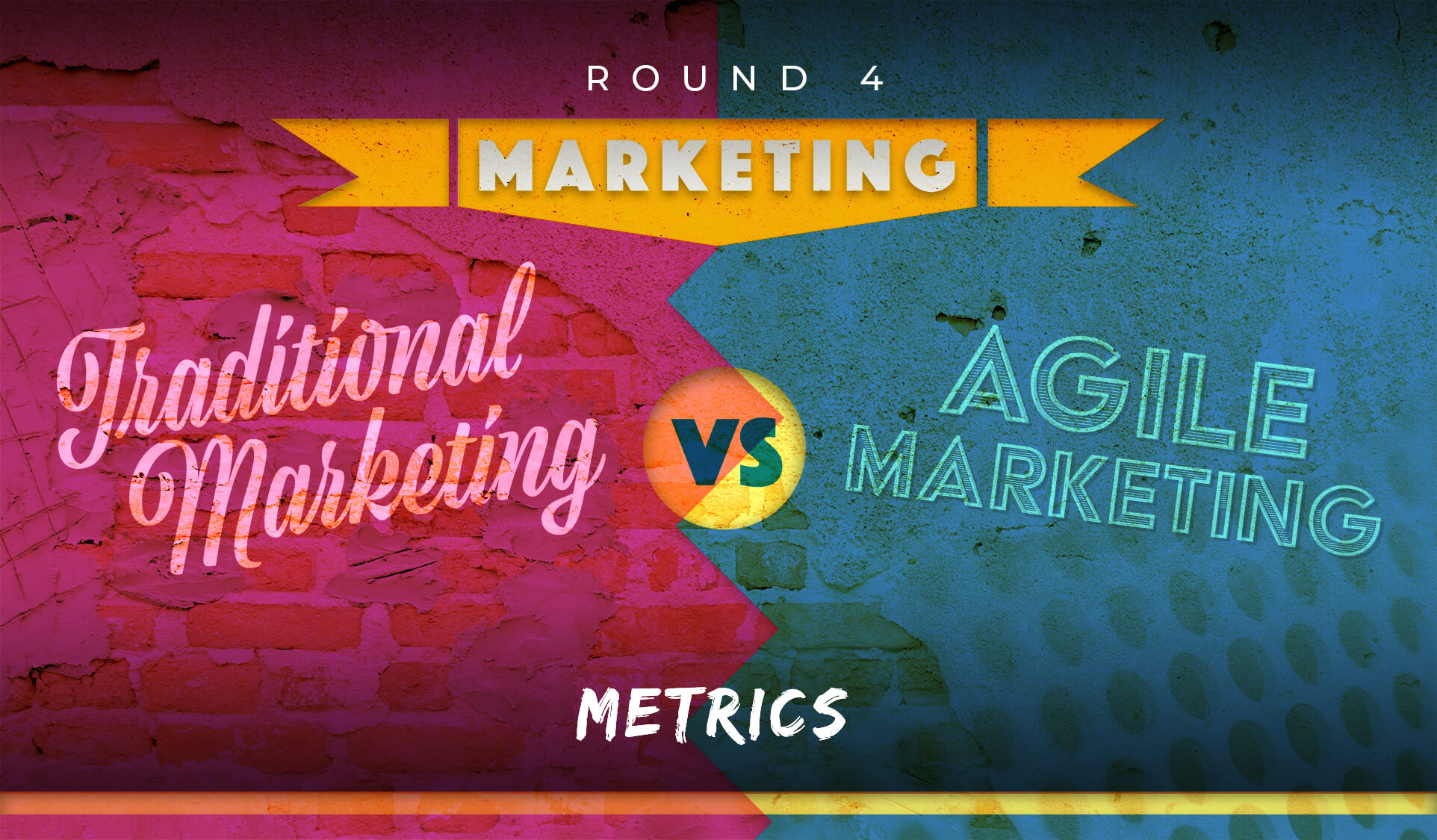 Traditional Marketing vs Agile Marketing : Round 4 - Metrics